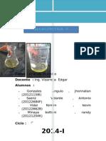 LABoratorio analisis quimico UNI