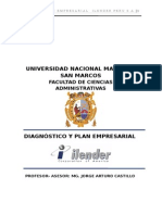 Plan Empresarial ILENDER Co.
