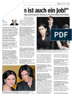 Placebo Interview by Silke Mitteregger