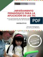 instructivo_2012 Acompañamiento Pedagógico
