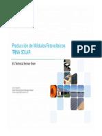 FIP Trina Solar Modulos FV Sp