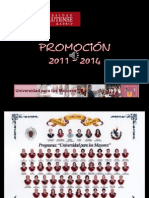 UCM - Universidad Mayores Promo 2011-2014