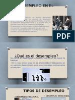 El Desempleo en El Perú