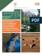 Manual Europarc Procedimiento Para La Asignacion de Las Categorias Internacionales de Manejo de Areas Protegidas de La Uicn