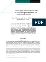 The Influence of Job Characteristics And