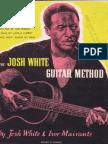 Josh White Guitar Method