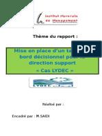 Rapport de Stage Lydec Final 1