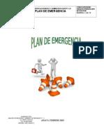 Plan de Emergecia Sersunorca