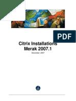 Citrix Install