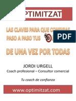 Claves Para Conseguir Tus Objetivos Jordi Urgell