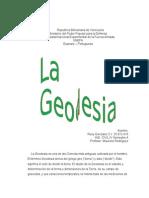 La Geodesia Ensayo