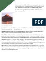 Tipos de Volcanes y Electricidad