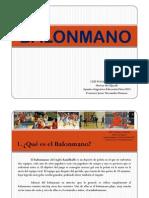 PDF Balonmano