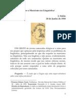 Stalin Marxismo Em Linguistica