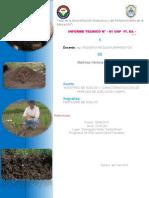 Proceso de análisis de suelo