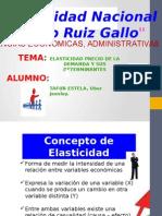 Elasticidad Precio de La Demanda y Sus Determinantes.