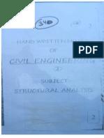 CIVIL 2.Structural Analysis