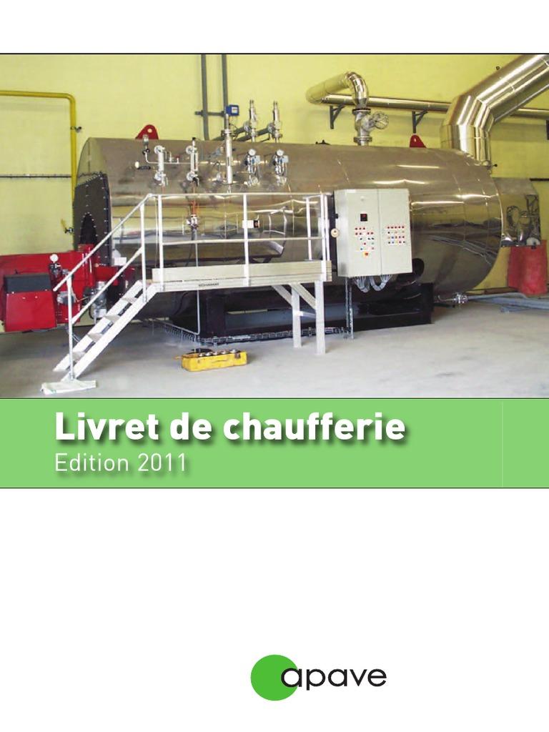 DE CHAUFFERIE LIVRET TÉLÉCHARGER