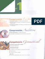 Dominio. Competencia español. unidad 1