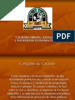 Catastro Urbano - Santa Cruz y Nociones de Economía Urbana