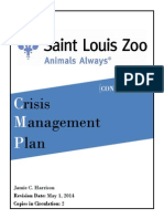 crisis management plan final