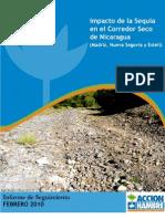 Impacto de la Sequía en el corredor Seco de Nicaragua