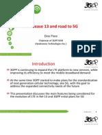 Dino Flores LTE Release 13 5G June 2015