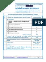 Readymade ISO 22000-2018 Auditor Training Kit