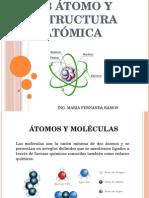 1.3 Atomo y Estructura