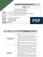 Rapport reunion Hebdomadaire DT du 06 05 2014.docx