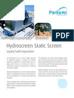 Hydroscreen