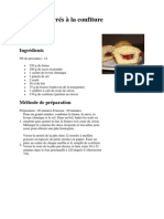 Muffins Fourrés à La Confiture