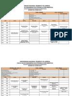 Ingenieria Electronica UNFV FIEI Horario 2015 1