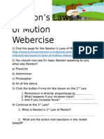 law of motion webercise