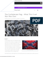 The Confederate Flag - What This Cruel War Was Over _ Michele R Chapman's Blog