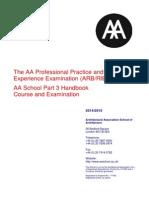 Appendix C Academic Regulations 2014-AA Part 3 Handbook