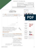 Definición de cable UTP - Qué es, Significado y Concepto.pdf