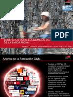 Banda Ancha Móvil Presentación RTavares GSMA