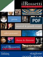 Il Rossetti stagione 2007-2008