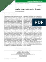 Cirugía Laparoscópica en Procedimientos de Colon