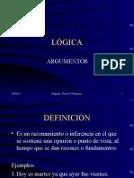 2.Lógica Argumentos(Definicion Partes Estructura)
