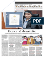 Honor al demérito