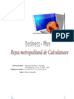 Miron Alexandru Plan de Afaceri Retea Metropolitan A