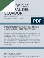 PROP. F.Q. DEL AGUA