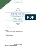 Deformaciones angulares