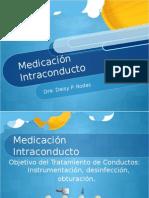 medicacion intarconducto