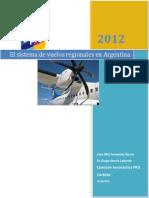 El Sistema de vuelos regionales en Argentina Reorganizacion