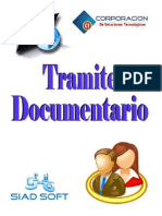 Manual Tramite documentario