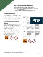 Preparación de Biodiesel
