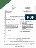 CASE BC581130, Dov Charney vs. Standard General, Standard General Master Fund,  Standard General LTD May 7, 2015